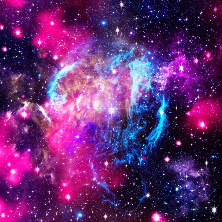 Photo for Deep space. Abstract natural backgrounds - Royalty Free Image