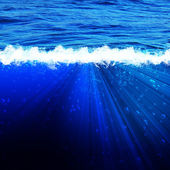 Deep sea. Abstract natural backgrounds