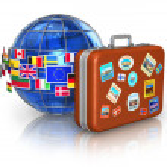 Постер, плакат: Travel and tourism concept