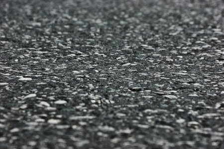 Texture of gray asphalt