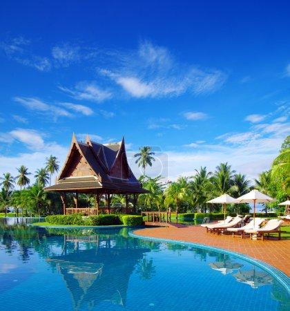 Foto de Hermosa piscina en Tailandia - Imagen libre de derechos