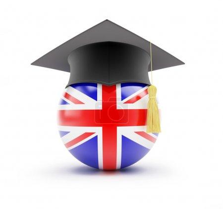 Photo pour Étudier en Angleterre, apprentissage anglais - image libre de droit