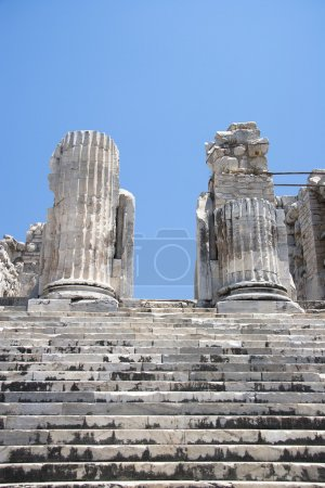 Temple of Apollo in antique city of Didyma...