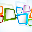 Bright background with colorful squares. Abstract ...