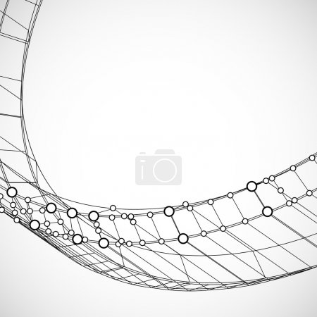 Illustration for Technical background - Royalty Free Image