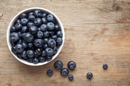 Photo for Bowl of blueberries - Royalty Free Image