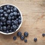 Bowl of blueberries...