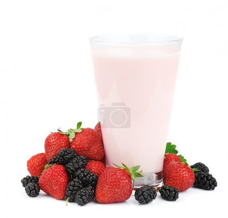 Fresh fruits and smoothies