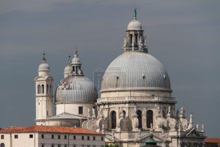 The Basilica Santa Maria della Salute in Venice
