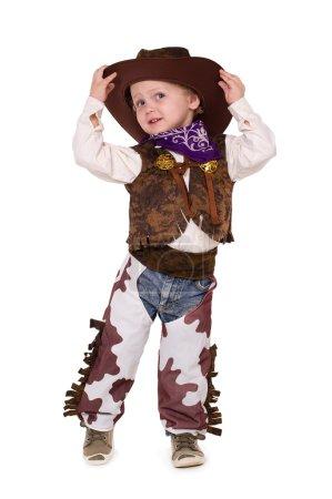 Little funny cowboy