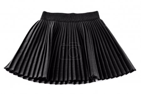 Chorna invention pleated short skirt woman