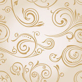 Seamless vector curves wallpaper Vintage background pattern