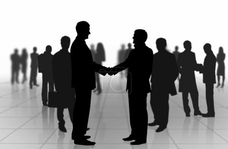 Photo for Business meeting. Business shaking hands - Royalty Free Image