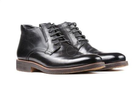 Men's Classic Black Leather Shoes