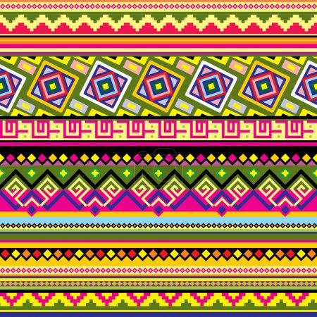 Latin American pattern