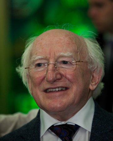 President Michael D Higgins visiting