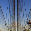 Постер, плакат: Brooklyn Bridge New York USA