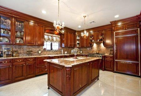 Photo pour Belle cuisine maison - image libre de droit