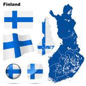Finland vector set