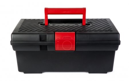 Photo for Empty toolbox on white background - Royalty Free Image