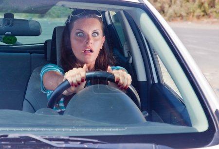un accident sur la route