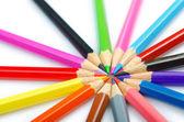 Barevné tužky v pojetí kreativity