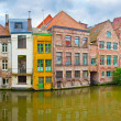 Channel in center of Ghent, Belgium...