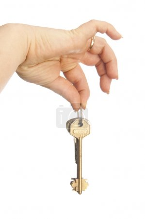 Photo for Handing a set of keys - Royalty Free Image