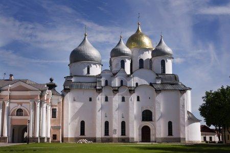 St. Sophia Cathedral. Kremlin Detinets. Novgorod. Russia