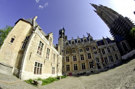 Architecture and Colors of Bruges