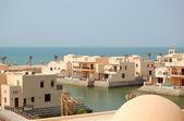 Villas at the luxury hotel, Ras Al Khaimah, UAE