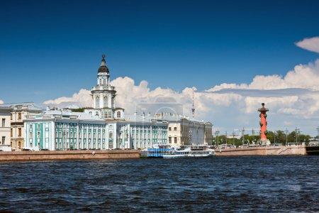 View of the landmarks of St. Petersburg