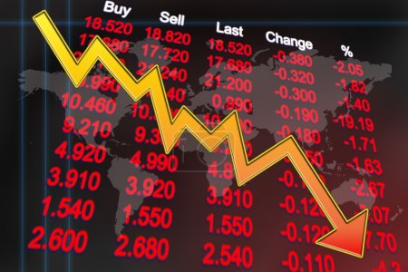 Global economy recession