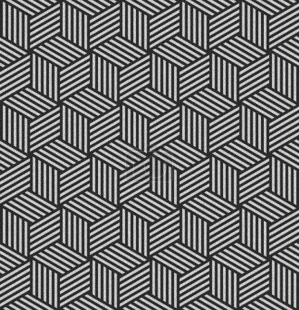Seamless geometric op art texture.