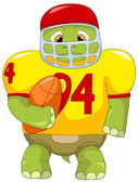 Funny Turtle Rugby