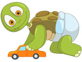 Funny Turtle Baby Boy