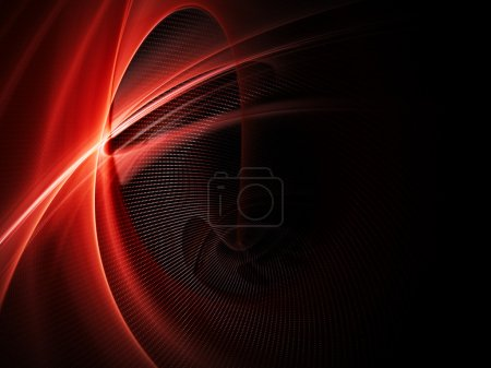 Photo for Abstract red background element - Royalty Free Image