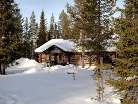 Romantic chalet in Lapland