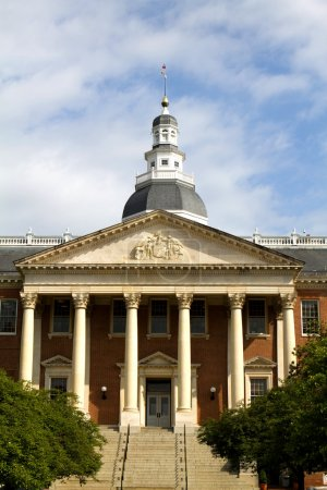 Maryland State Capitol Entrance