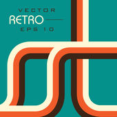 Retro style Vector illustration EPS 10 background