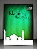 Islamic Flyer design.