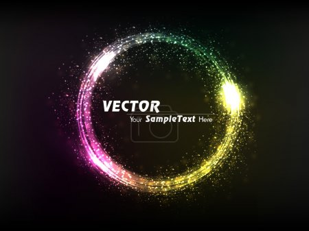 Vector illustration of Creative dynamic Sphere to attract attention to your design idea. editable Eps10.