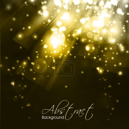 Illustration for Abstract shiny background. EPS 10. - Royalty Free Image