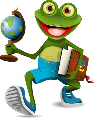 Frog student