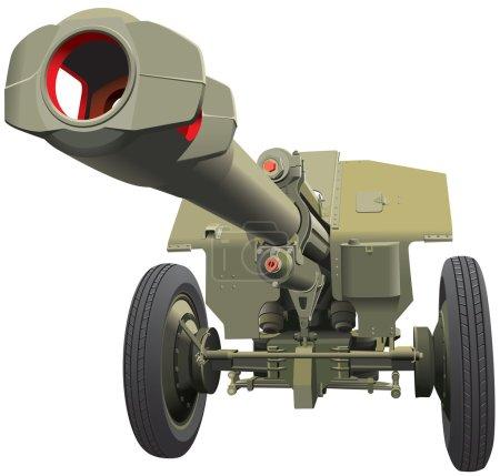 Large old gun