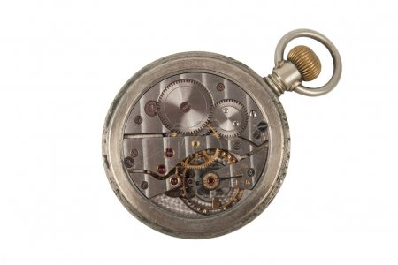 Mechanism of old Clock