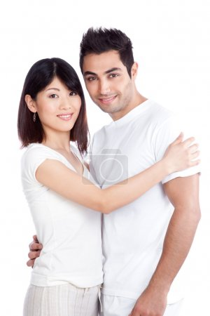 Diverse Young Couple