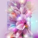 Artistic flower background...