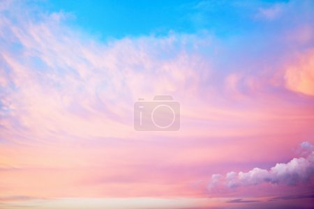Photo for Beautiful sky with clouds - Royalty Free Image