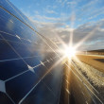 Power plant using renewable solar energy with sun...